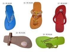 chinelos customizados