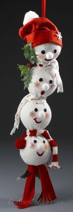 49 Amazing Snowman Craft Ideas | HubPages