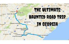 This Haunted Road Trip Will Lead You To The Scariest Places In Georgia
