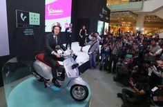JAKARTA, 25 Mei 2016-PT Piaggio Indonesiamerilis empat model terbarunya di Jakarta, Rabu (25/5). Empat serangkai yang diperkenalkan adalah Piaggio Liberty 150 ABS, Piaggio Medley 150 ABS, Vespa Sprint dan Vespa Primavera. Peluncuran keempat produk ini dilakukan untuk menanggapi tingginya antusias