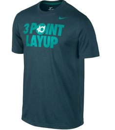 Nike Men's Kevin Durant 3 Point Layup Basketball Graphic T-Shirt available at Dick's Sporting Goods
