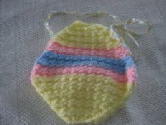 Child's Easter Egg Purse Free Crochet Pattern