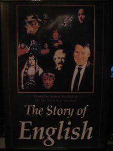 THE STORY OF ENGLISH. Conducido por Robert MacNeil, un popular e respetado reportero , viaxamos a traves da historia e do mundo moderno para ilustrar a influencia do inglés no mundo. DVD-T-30