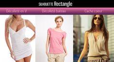 silhouettes-rectangle-H-decollete Gwyneth Paltrow, Gwen Stefani, Body Shapes, Fashion Models, Tankini, Basic Tank Top, Silhouettes, Couture, Tank Tops