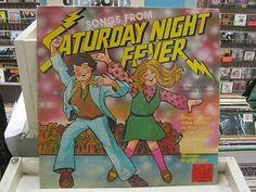 Songs From Saturday Night Fever vinyl LP Kid Stuff Records