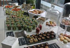 Alle waren vom Catering der Veranstaltungsmanufaktur Hamburg - Traiteur Wille begeistert: Die übrig gebliebenen Macarons und Tarteletts haben wir sogar (sehr zur Freude unserer nicht mitgereisten Kolleginnen) mit zurück ins Büro genommen...