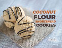 Coconut Flour Shortbread Cookies