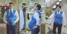 Um homem consegue suportar os desconfortos da gravidez? 3 governadores do Japão participaram de um vídeo, e o resultado foi surpreendente. Vamos assistir?