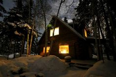 Fairbanks cabin rental, starting planning your winter trip!