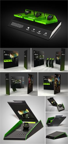 Agency: FICTION | Project: miCoach Smart Watch Display & Seeding Box for adidas