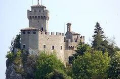San Marino guaita fortress (Első torony)
