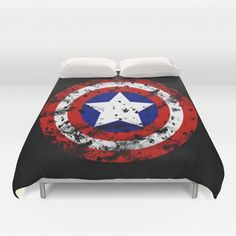 Inspired by Captain A Special addition Duvet by SuperHeroesPlanet