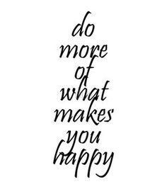 Riley & Company Cling Mount Rubber Stamp-Do More Of What Makes You Happy