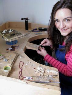 My gorgeous and talented friend :) Temple Jewellery, Silver Jewellery, Edinburgh Scotland, Precious Metals, Diy Jewelry, Artisan, Jewels, Facebook, Gemstones