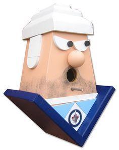 Winnipeg Jets by buyabirdhouse on Etsy