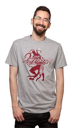 The Demogorgon T-Shirt Stranger Things Gifts, Science Fiction, Mens Tops, T Shirt, Sci Fi, Supreme T Shirt, Tee Shirt, Tee