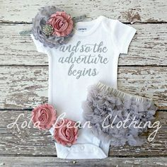 Baby Girl Coming Home Outfit \ Baby Girl Take Home Outfit \ Baby Girl Clothes \ Baby Shower Gift \ Baby Girl Outfit - Ropa De Bebé Newborn Outfit, Baby Hospital Outfit, Girls Coming Home Outfit, Take Home Outfit, Baby Outfits, Retro Outfits, Kids Outfits, Baby Boys, Toddler Girls