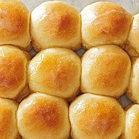 Overnight Refrigerator Rolls - Get a head start on food prep for your next party with these easy rolls. The dough is made the day before, so all that's left is the rising and baking time.