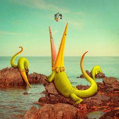 BAKELANASLAND! by Juan Carlos Paz -BAKEA-, via Behance