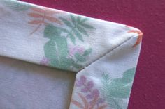 Nerdy sewing tips: The perfect mitred corner – By Hand London
