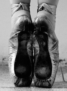 pointes worn out