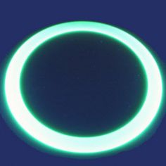 Juggling Ring Glow in the dark 40 cm - Thesejuggling rings react to the phosphorescent light (black-light) and are idealfor outdoor use thanks to their design composed of holes. The Darkest, Glow, Rings, Ring, Wire Wrapped Rings