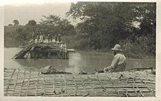 Damaged Bridge in Village, Dar es Salaam Area, Tanganyika 1940s