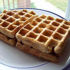 Soaked Wheat yeast Waffles