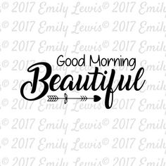 Good Morning Beautiful SVG  wood sign svgs  wood s…