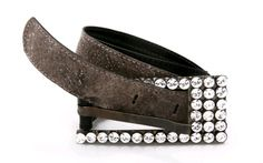 #belt made of fish leather (wolffish) and #Swarovski crystals | Design by #Gydja