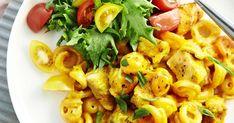 Palermon pasta on koululaisten hittiruoka. Uunivuokaan lisätään broilerinfileet, raaka pasta, juustoraaste ja mausteinen kastike.