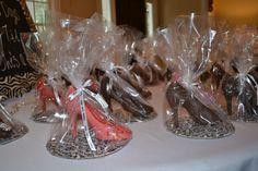 Bridal Shower Favor Idea - Chocolate High Heel Shoes