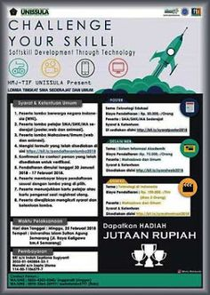 Informasi Lomba, Buku, dan Beasiswa: Softskill Development Through Technology UNISSULA ...