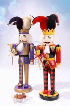 nutcrackers - court jesters