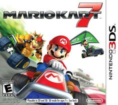 Buy a used Mario Kart 7 Nintendo Game. ✅Compare prices by UK Leading retailers that sells ⭐Used Mario Kart 7 Nintendo Game for cheap prices. Nintendo Mario Kart, Super Nintendo, Nintendo 3ds New, Mario Kart Games, Mario 3ds, Nintendo Switch, Nintendo Games, Super Luigi, Super Mario Kart