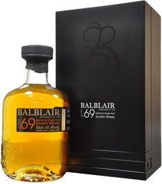 Balblair 1969 Single Malt Scotch Whisky.  Aged for 43 years in just two American ex-bourbon casks, this single malt #Scotch #whisky is the oldest vintage in Balblair's U.S. range. | @Caskers