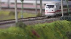 Maqueta de Trenes la mayor del mundo en escala H0 - YouTube
