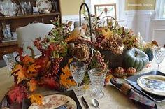 Image result for fall tablescapes
