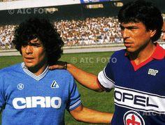 Diego Maradona & Daniel Passarella