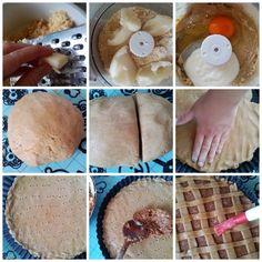 diétás almás pite recept Naan, Camembert Cheese, Pancakes, Paleo, Breakfast, Recipes, Food, Devil, Morning Coffee
