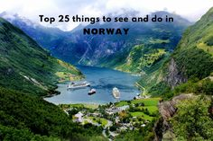 Geirangerfjord - Top 25 things to see and do in #Norway #travel #Europe