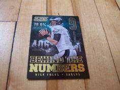 2014-Score-BN7-NICK-FOLES-Behind-The-Numbers-Insert-Card #NickFoles #Ebay #PhiladelphiaEagles #NFL