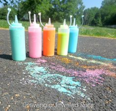 Summer Fun with Sidewalk Chalk