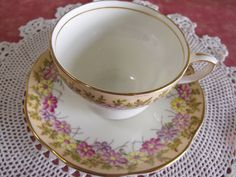 EB Foley Tea cup and saucer