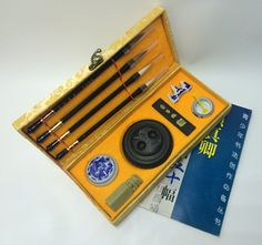 Amazon.com : The Sunrise*High Grade Chinese Calligraphy Brush / Kanji /Sumi Set for Beginners, cheap : Office Products