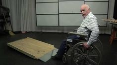 Build Long Inexpensive Residential Wood Wheelchair Ramps in 2hr - YouTube