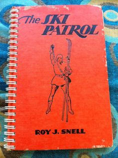 Ski Patrol Blank Book by Merrittorious on Etsy, $8.00