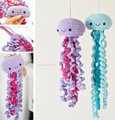 Crochet Jellyfish Free Pattern