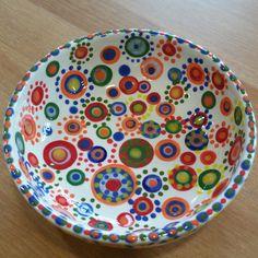 Punkt Punkt Punkt Keramik selber bemalen bei Paint your Style - Wien 15 Wie es funktioniert zeigen wir dir gerne!