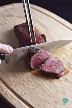 Venison tenderloin, or deer tenderloin, makes an elegant main dish. The tenderloin, or backstrap, is the premium cut and yields a rich, delicious recipe.